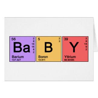Chemistry Baby Card