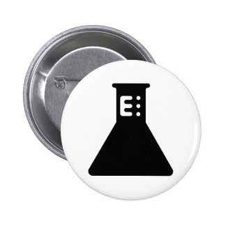 Chemistry Beaker Pinback Button