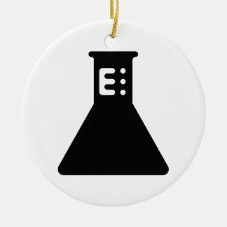 Chemistry Beaker Christmas Ornament