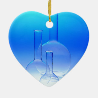 CHEMISTRY BEAKERS SCIENTIST ORNAMENT LABORATORY