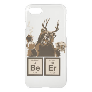 Chemistry bear discovered beer iPhone 8/7 case