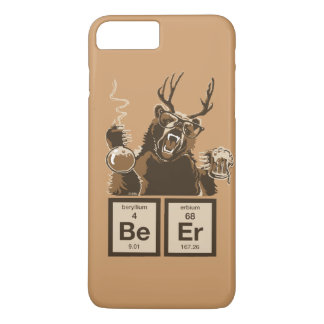 Chemistry bear discovered beer iPhone 8 plus/7 plus case