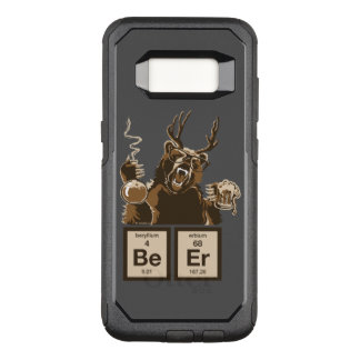 Chemistry bear discovered beer OtterBox commuter samsung galaxy s8 case