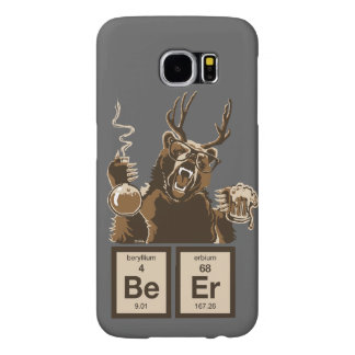 Chemistry bear discovered beer samsung galaxy s6 cases