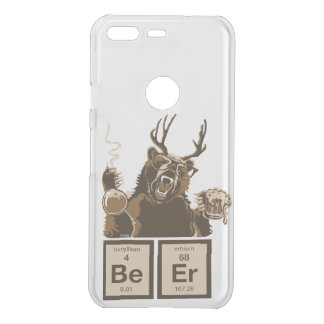 Chemistry bear discovered beer uncommon google pixel case