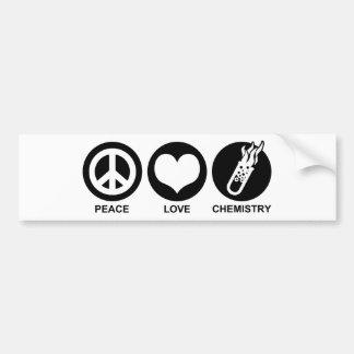 Chemistry Car Bumper Sticker