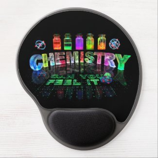 Chemistry - Can You Feel It? Gel Mousepads