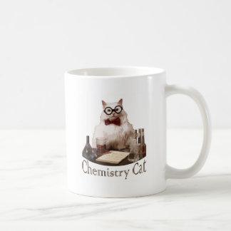 Chemistry Cat (from 9gag memes reddit) Basic White Mug