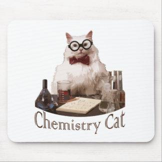 Chemistry Cat (from 9gag memes reddit) Mouse Pad
