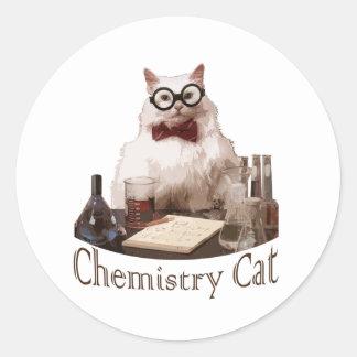 Chemistry Cat from 9gag memes reddit Stickers