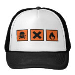 chemistry chemist signs hat