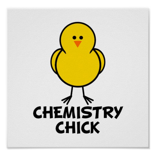 Chemistry Chick Poster