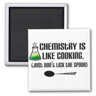 Chemistry Cooking Magnet