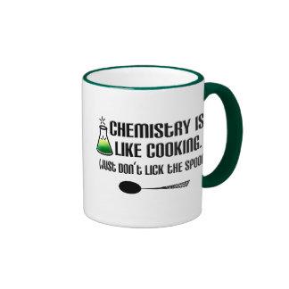 Chemistry Cooking Ringer Mug
