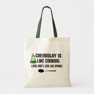 Chemistry Cooking Tote Bag