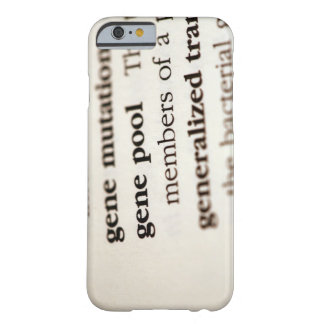 Chemistry definitions on paper barely there iPhone 6 case