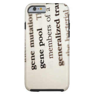 Chemistry definitions on paper tough iPhone 6 case