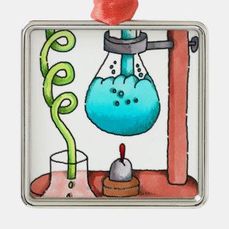 Chemistry Experiment Christmas Ornament