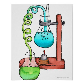 Chemistry Experiment Poster