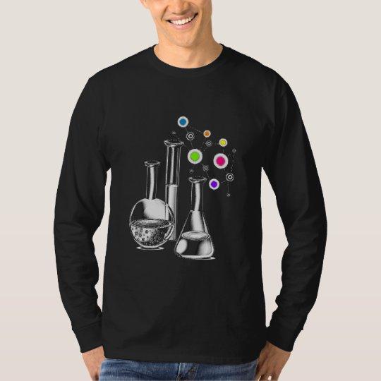 Chemistry Flasks on Men's Basic Long Sleeve T-Shirt