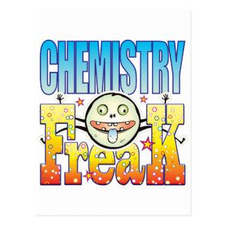 Chemistry Freaky Freak Postcard