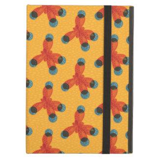 Chemistry Geek Pattern Orange Methane Molecule iPad Air Case