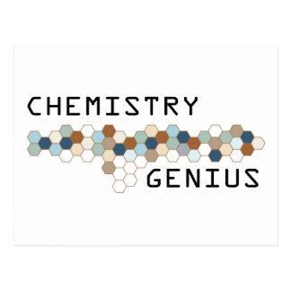 Chemistry Genius Postcard