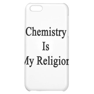 Chemistry Is My Religion iPhone 5C Cases