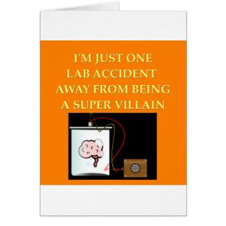 chemistry joke card