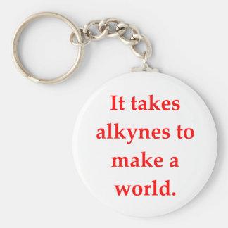 chemistry joke key chains