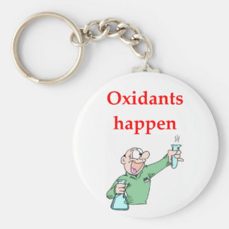 chemistry joke key ring