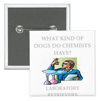 chemistry jokes buttons