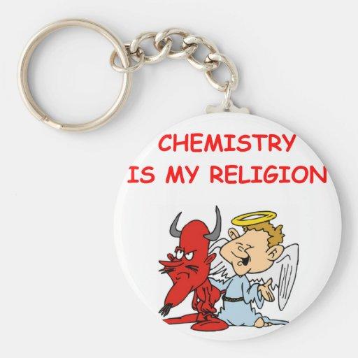 chemistry key chains