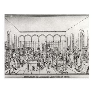Chemistry laboratory of Baron Justus von Liebig Postcard
