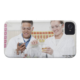 Chemistry lesson. 2 iPhone 4 Case-Mate case