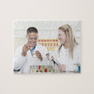 Chemistry lesson. puzzle