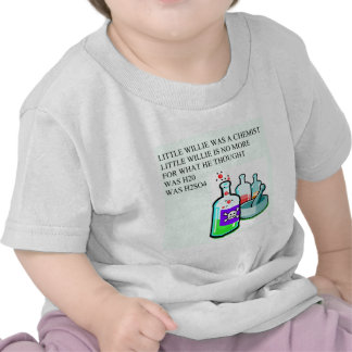 chemistry little willie rhyme shirts