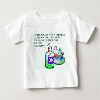 chemistry little willie rhyme t shirts