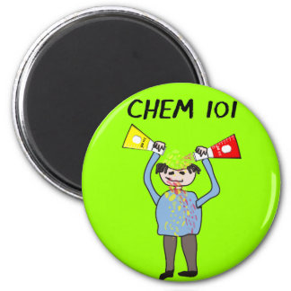 Chemistry Lovers Gifts 6 Cm Round Magnet