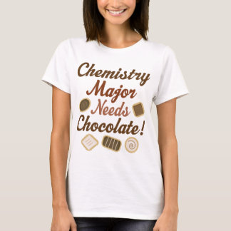 Chemistry Major Chocolate T-Shirt