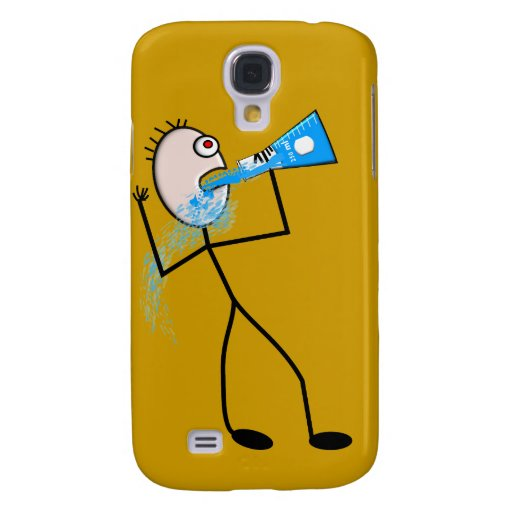 Chemistry Major Funny Stick Man Gifts Samsung Galaxy S4 Cases