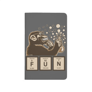 Chemistry monkey discovered fun journal