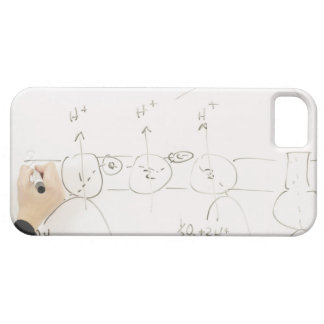 Chemistry on dry-erase board barely there iPhone 5 case
