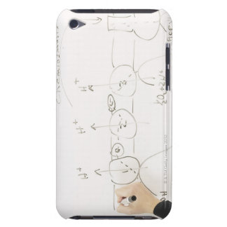 Chemistry on dry-erase board iPod touch covers