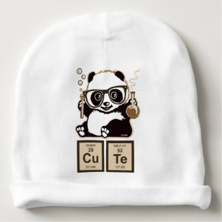 Chemistry panda discovered cute baby beanie
