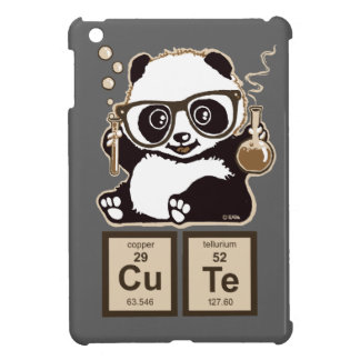 Chemistry panda discovered cute iPad mini case
