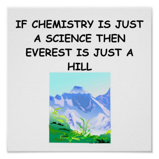 Chemistry poster zazzle for Chemistry poster ideas