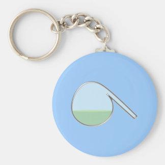 Chemistry retort piston chemistry retort basic round button key ring