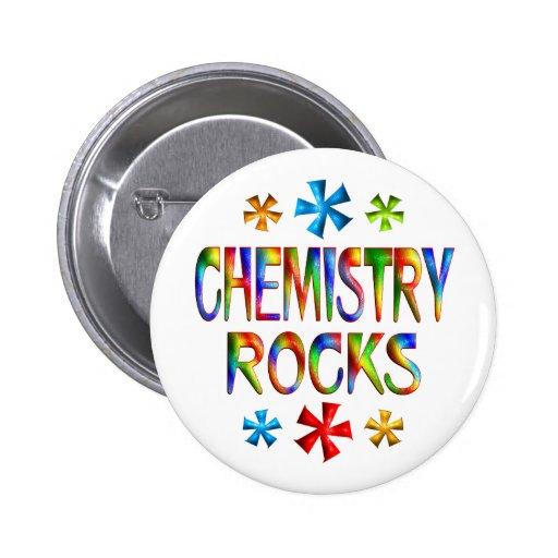 CHEMISTRY ROCKS PIN