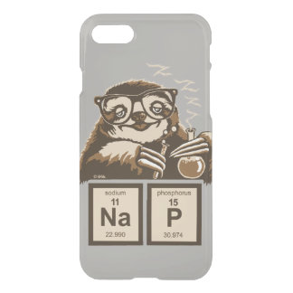 Chemistry sloth discovered nap iPhone 8/7 case